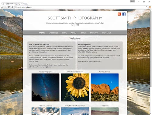 template sample by Scott Smith Photogarphy